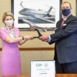 Exim Bank вручил Gulfstream Aerospace награду «Сделка года»